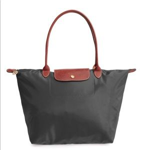 Longchamp Olive Green Large Tote